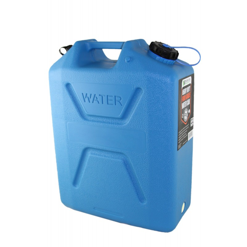 5 Gallon Blue Plastic Bpa Free Jerry Water Can Spout